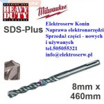 MILWAUKEE 4932367013 Wiertło udarowe SDS-plus 8 x 400/460