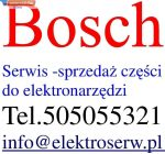 Bosch tabliczka znamionowa 26x42mm do GSH 27 VC 1601106035