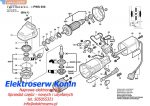 Bosch wirnik do PWS 550 2609000761